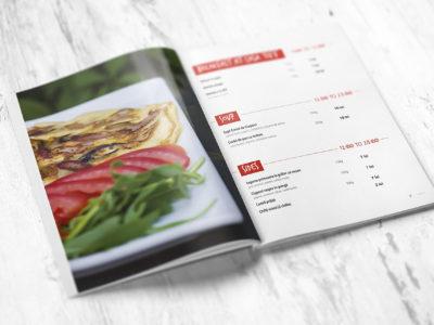 Casa TIFF restaurant menu